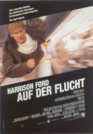 The Fugitive - German Movie Poster (xs thumbnail)