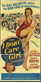 The I Don't Care Girl - Movie Poster (xs thumbnail)