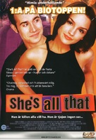She's All That - Swedish DVD movie cover (xs thumbnail)