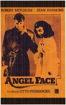 Angel Face - Spanish Movie Cover (xs thumbnail)