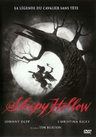 Sleepy Hollow - French DVD movie cover (xs thumbnail)