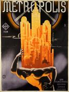Metropolis - Hungarian Movie Poster (xs thumbnail)
