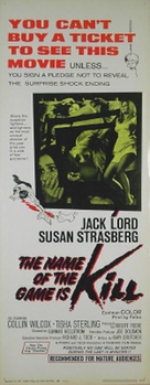 The Name of the Game Is Kill - Movie Poster (xs thumbnail)