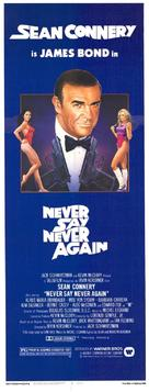 Never Say Never Again - Australian Movie Poster (xs thumbnail)