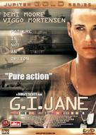 G.I. Jane - Danish DVD cover (xs thumbnail)