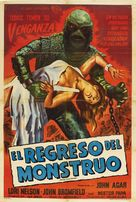 Revenge of the Creature - Spanish Movie Poster (xs thumbnail)