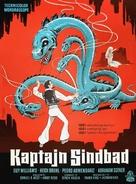 Captain Sindbad - Danish Movie Poster (xs thumbnail)