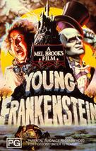 Young Frankenstein - Australian DVD cover (xs thumbnail)