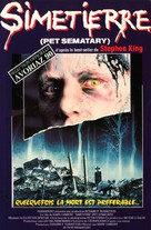 Pet Sematary - French VHS movie cover (xs thumbnail)