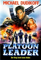 Platoon Leader - German DVD cover (xs thumbnail)