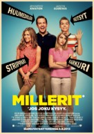 We're the Millers - Finnish Movie Poster (xs thumbnail)