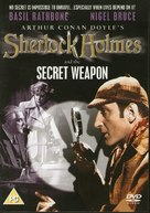 Sherlock Holmes and the Secret Weapon - British DVD movie cover (xs thumbnail)