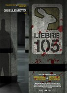 Liebre 105 - Argentinian Movie Poster (xs thumbnail)