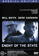Enemy Of The State - Australian Movie Cover (xs thumbnail)