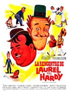 The Further Perils of Laurel and Hardy - French Movie Poster (xs thumbnail)