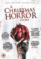 A Christmas Horror Story - British DVD movie cover (xs thumbnail)