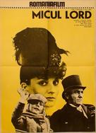 Little Lord Fauntleroy - Romanian Movie Poster (xs thumbnail)