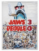 Jaws 3D - Movie Poster (xs thumbnail)