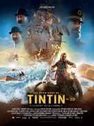 The Adventures of Tintin: The Secret of the Unicorn - French Movie Poster (xs thumbnail)
