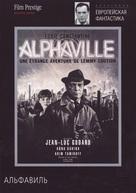 Alphaville, une étrange aventure de Lemmy Caution - Russian DVD movie cover (xs thumbnail)