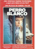 White Dog - Spanish Movie Poster (xs thumbnail)