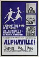Alphaville, une étrange aventure de Lemmy Caution - Movie Poster (xs thumbnail)