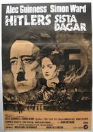 Hitler: The Last Ten Days - Swedish Movie Poster (xs thumbnail)