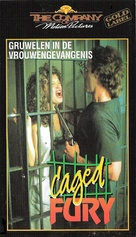 Caged Fury - Dutch VHS movie cover (xs thumbnail)
