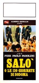 Salò o le 120 giornate di Sodoma - Italian Movie Poster (xs thumbnail)