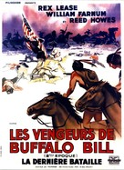 Custer's Last Stand - French Movie Poster (xs thumbnail)