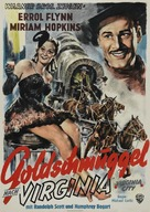 Virginia City - German Movie Poster (xs thumbnail)