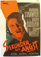 Jeopardy - German Movie Poster (xs thumbnail)