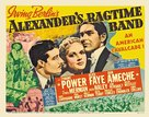 Alexander's Ragtime Band - British Movie Poster (xs thumbnail)