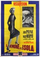 Hell's Island - Italian Movie Poster (xs thumbnail)