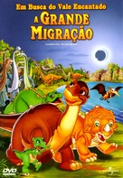 The Land Before Time X: The Great Longneck Migration - Brazilian DVD movie cover (xs thumbnail)