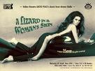 Una lucertola con la pelle di donna - British Movie Poster (xs thumbnail)