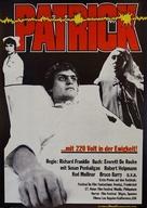 Patrick - German Movie Poster (xs thumbnail)