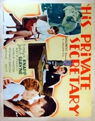 His Private Secretary - Movie Poster (xs thumbnail)