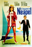 It Started in Naples - German Movie Poster (xs thumbnail)