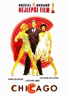 Chicago - Czech DVD movie cover (xs thumbnail)