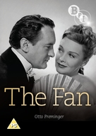 The Fan - British DVD cover (xs thumbnail)