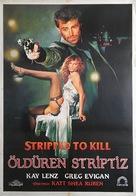 Stripped to Kill - Turkish Movie Poster (xs thumbnail)