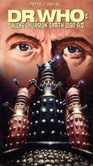 Daleks' Invasion Earth: 2150 A.D. - British VHS cover (xs thumbnail)