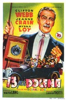 Cheaper by the Dozen - Spanish Movie Poster (xs thumbnail)
