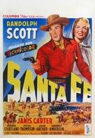 Santa Fe - Belgian Movie Poster (xs thumbnail)
