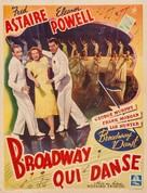 Broadway Melody of 1940 - Belgian Movie Poster (xs thumbnail)