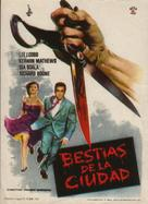 The Garment Jungle - Spanish Movie Poster (xs thumbnail)