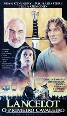 First Knight - Brazilian VHS movie cover (xs thumbnail)