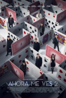 Now You See Me 2 - Spanish Movie Poster (xs thumbnail)
