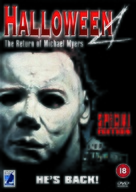 Halloween 4: The Return of Michael Myers - British DVD movie cover (xs thumbnail)